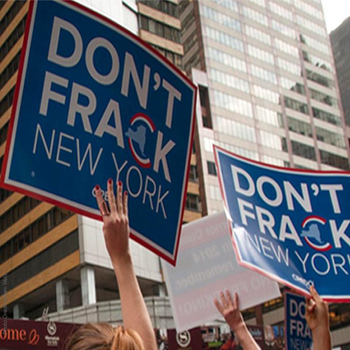 Protest: Don't Frack New York
