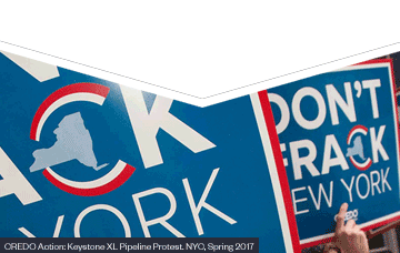 Protest: Don't Frack New York